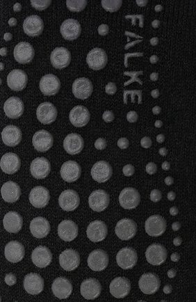 Мужские носки из смеси хлопка и шерсти FALKE серого цвета, арт. 16500 | Фото 2