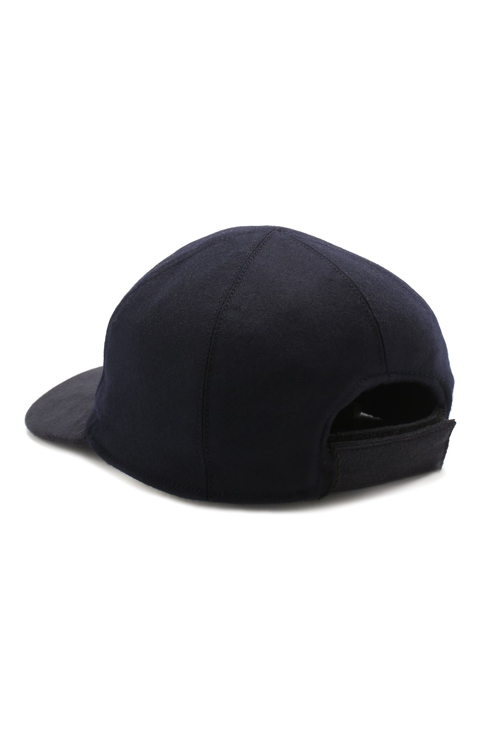 Мужской шерстяная бейсболка BILLIONAIRE темно-синего цвета, арт. MAC0466 | Фото 2