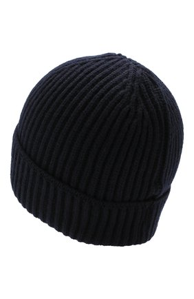 Мужская шерстяная шапка BILLIONAIRE темно-синего цвета, арт. MAC0465 | Фото 2