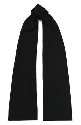 Мужской кашемировый шарф tallinn CANOE черного цвета, арт. 4912610 | Фото 1