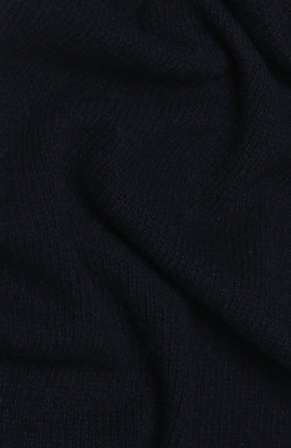 Мужской кашемировый шарф strong CANOE темно-синего цвета, арт. 4805141   Фото 2