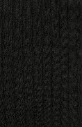 Мужские кашемировые носки FALKE черного цвета, арт. 14459 | Фото 2