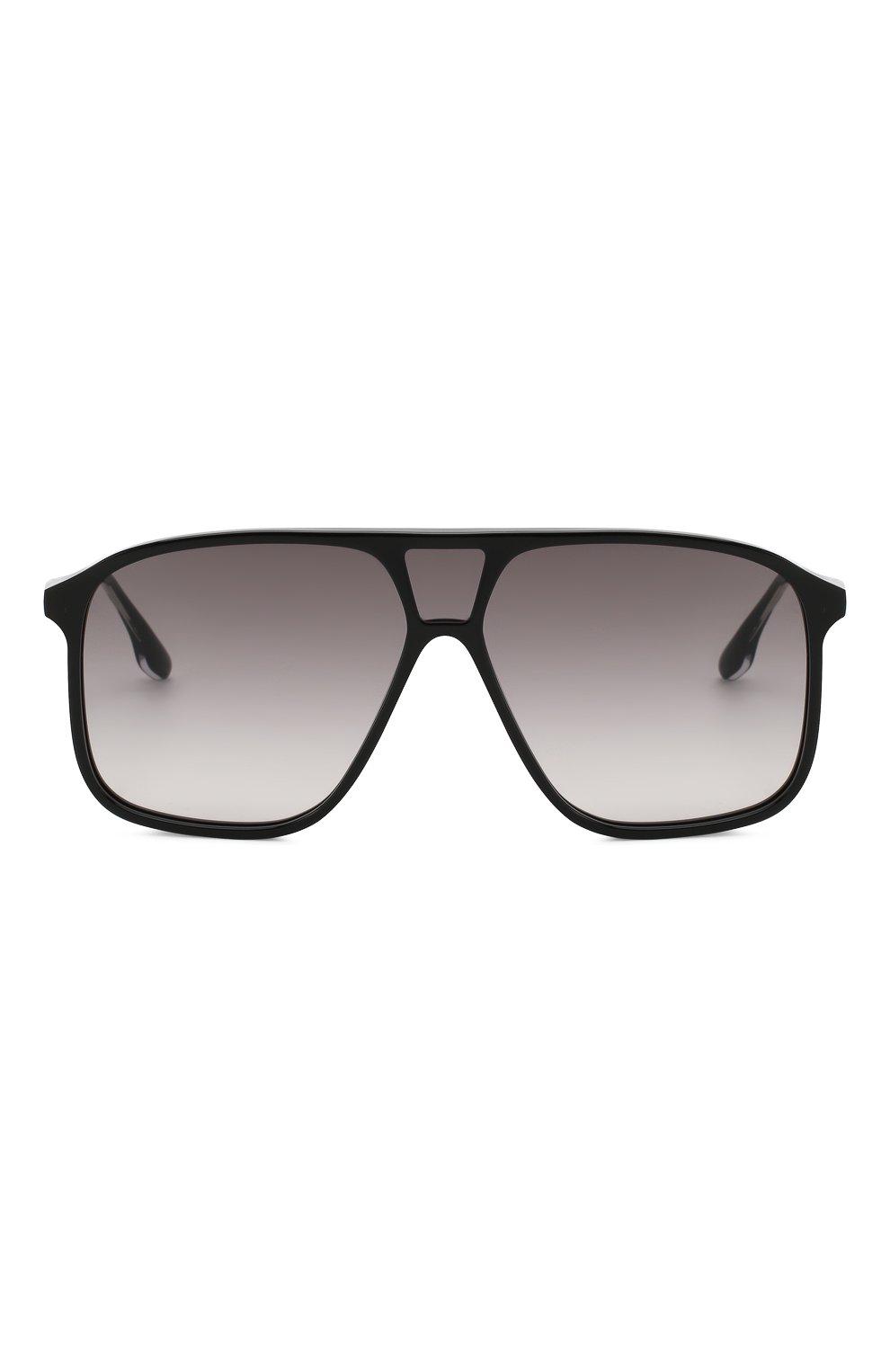 Женские солнцезащитные очки VICTORIA BECKHAM черного цвета, арт. S156 C01 | Фото 3