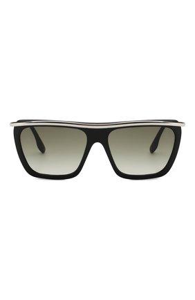 Женские солнцезащитные очки VICTORIA BECKHAM черно-белого цвета, арт. S154 C01 | Фото 3