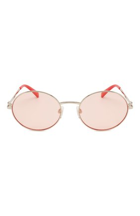 Женские солнцезащитные очки MOSCHINO светло-розового цвета, арт. M0L013 1N5 | Фото 3