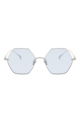 Женские солнцезащитные очки EQUE.M голубого цвета, арт. CALIF0RNIA SIGNAL/SS | Фото 3
