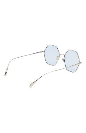 Женские солнцезащитные очки EQUE.M голубого цвета, арт. CALIF0RNIA SIGNAL/SS | Фото 4
