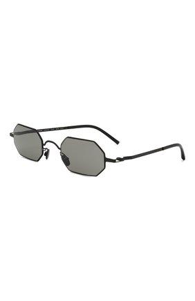 Женские солнцезащитные очки MAISON MARGIELA черного цвета, арт. MMCRAFT 004/002   Фото 1