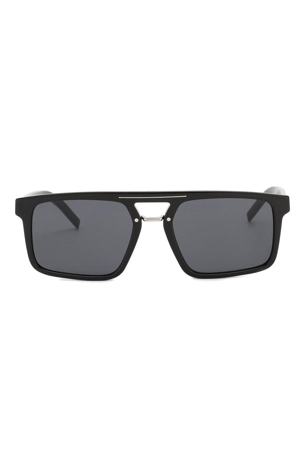 Мужские солнцезащитные очки DIOR черного цвета, арт. BLACKTIE262S 807   Фото 2