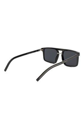 Мужские солнцезащитные очки DIOR черного цвета, арт. BLACKTIE262S 807   Фото 3