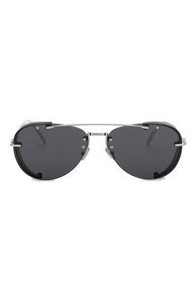 Мужские солнцезащитные очки DIOR черного цвета, арт. DI0RCHR0MA1 010 2K | Фото 2