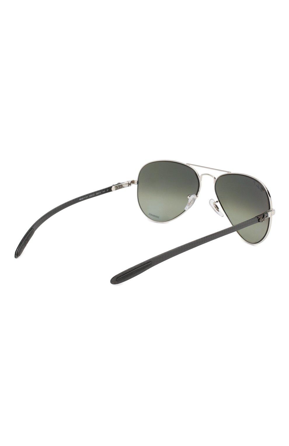 Мужские солнцезащитные очки RAY-BAN серого цвета, арт. 8317CH-003/5J | Фото 3