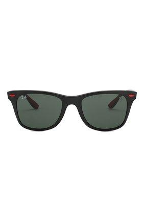 Мужские солнцезащитные очки RAY-BAN черного цвета, арт. 4195M-F60271 | Фото 2