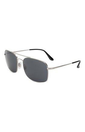 Мужские солнцезащитные очки RAY-BAN серебряного цвета, арт. 3611-003/R5 | Фото 1