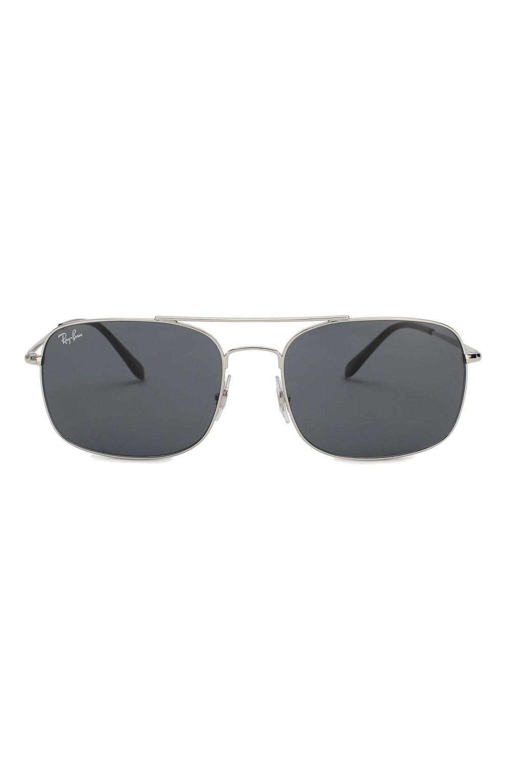 Мужские солнцезащитные очки RAY-BAN серебряного цвета, арт. 3611-003/R5   Фото 2