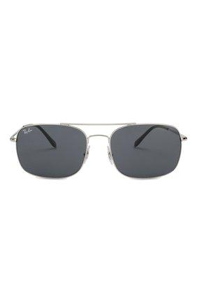Мужские солнцезащитные очки RAY-BAN серебряного цвета, арт. 3611-003/R5 | Фото 2