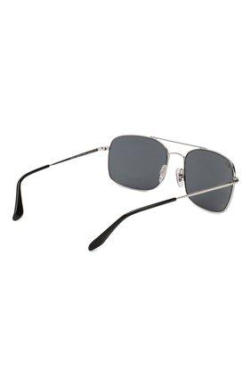 Мужские солнцезащитные очки RAY-BAN серебряного цвета, арт. 3611-003/R5   Фото 3