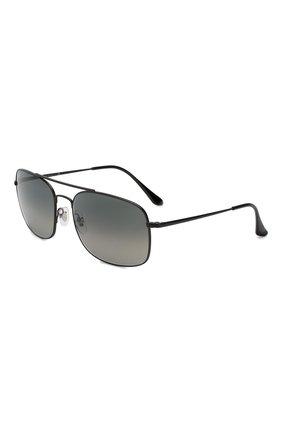 Мужские солнцезащитные очки RAY-BAN черного цвета, арт. 3611-006/71 | Фото 1