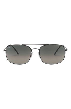 Мужские солнцезащитные очки RAY-BAN черного цвета, арт. 3611-006/71 | Фото 2