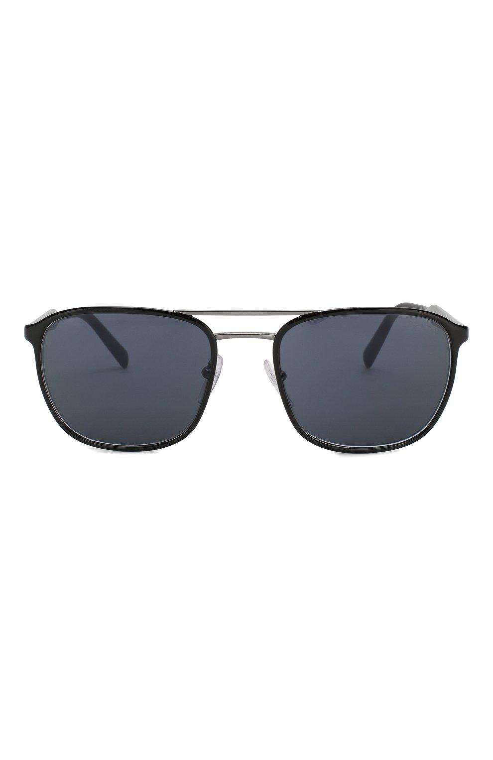 Женские солнцезащитные очки PRADA черного цвета, арт. 75VS-YDC0A9   Фото 2