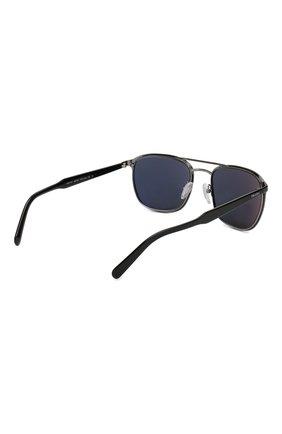 Женские солнцезащитные очки PRADA черного цвета, арт. 75VS-YDC0A9   Фото 3