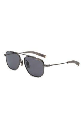 Мужские солнцезащитные очки DITA темно-серого цвета, арт. LSA-102/04 | Фото 1