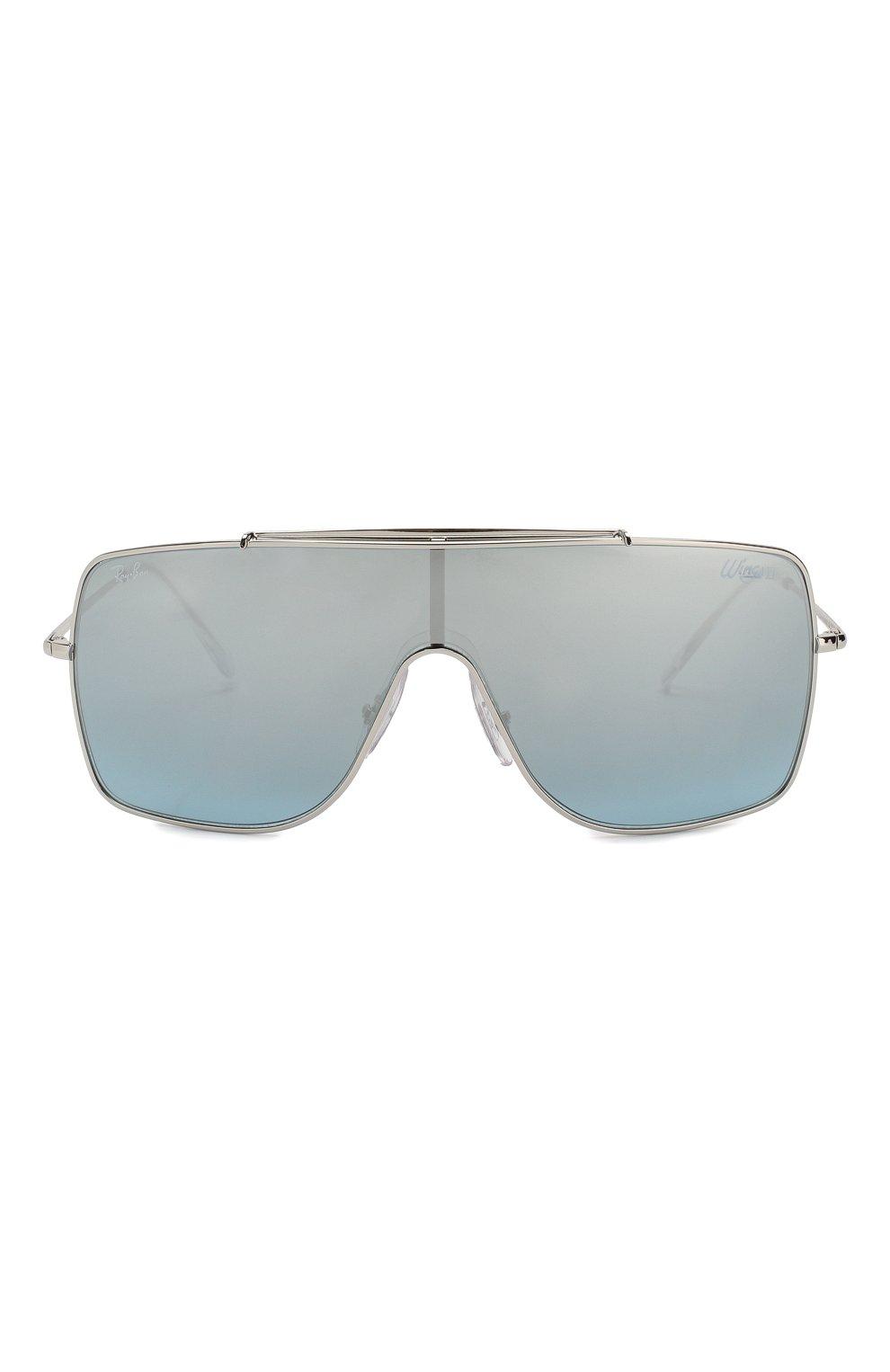 Мужские солнцезащитные очки RAY-BAN серебряного цвета, арт. 3697-003/Y0 | Фото 2