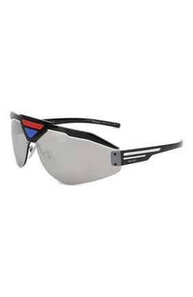 Мужские солнцезащитные очки PRADA разноцветного цвета, арт. 69VS-4602B0 | Фото 1