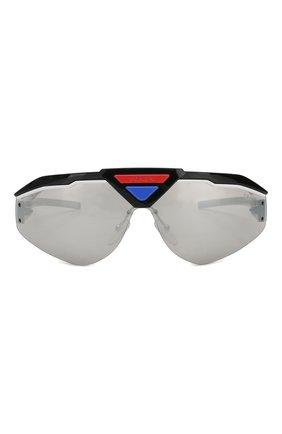 Мужские солнцезащитные очки PRADA разноцветного цвета, арт. 69VS-4602B0 | Фото 2