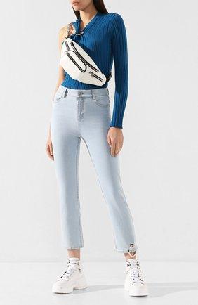 Женские джинсы ACT N1 голубого цвета, арт. PFP1901 | Фото 2