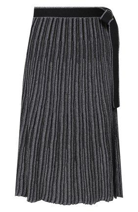 Женская юбка VICTORIA, VICTORIA BECKHAM темно-синего цвета, арт. KSVV 018 PAW19 VISC0SE BLEND | Фото 1