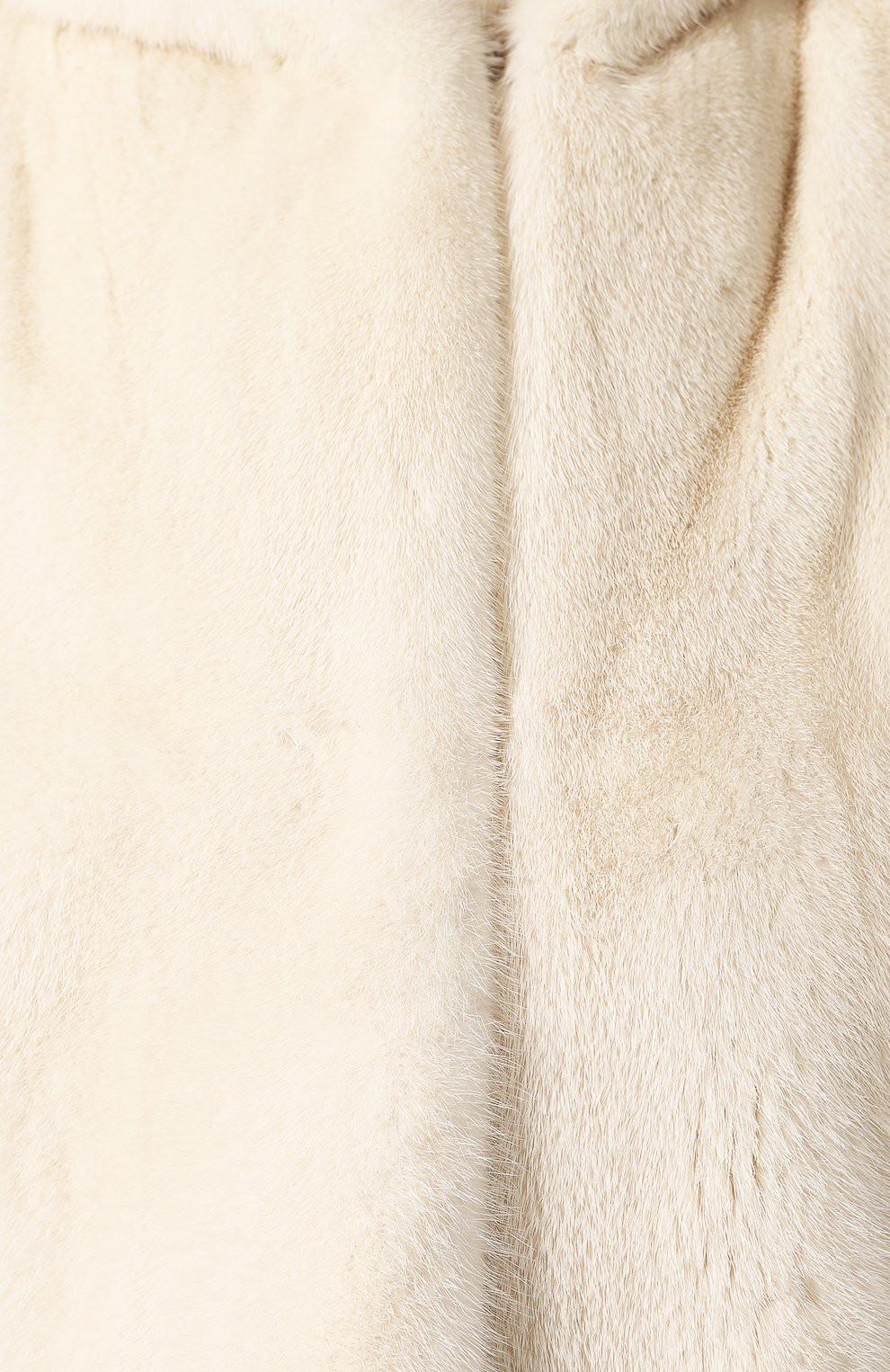 Шуба из меха норки | Фото №5