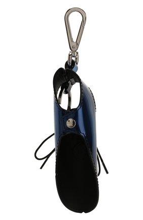 Мужской кожаный брелок BERLUTI синего цвета, арт. X184557 | Фото 2
