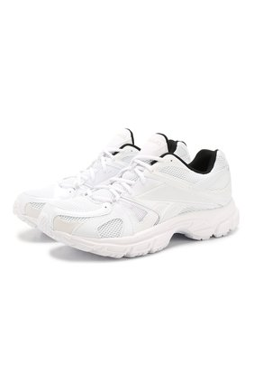 Мужские текстильные кроссовки vetements x reebok spike runner 200 VETEMENTS белого цвета, арт. UAH20RE1/M | Фото 1
