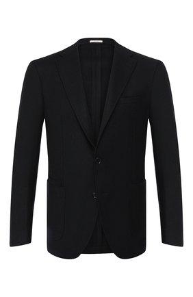 Пиджак из смеси кашемира и шерсти   Фото №1