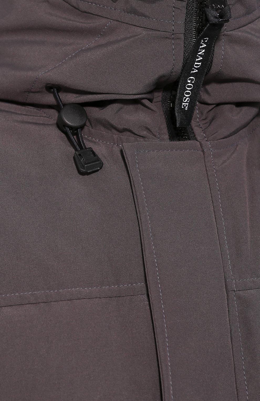 Мужская пуховая парка macmillan CANADA GOOSE серого цвета, арт. 3804M | Фото 5