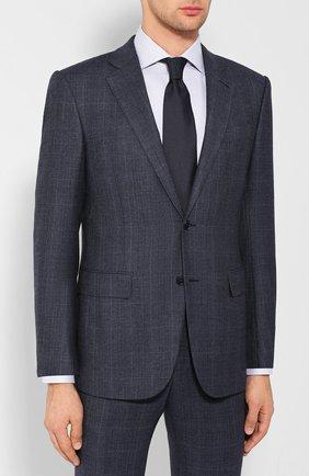Мужской шерстяной костюм ERMENEGILDO ZEGNA синего цвета, арт. 628524/221225 | Фото 2