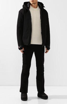 Мужские текстильные сапоги BOGNER черного цвета, арт. 393-5114/DAV0S 3A | Фото 2