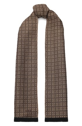 Мужской шарф BOSS бежевого цвета, арт. 50415052   Фото 1
