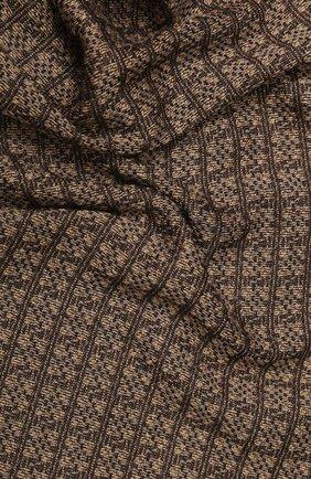 Мужской шарф BOSS бежевого цвета, арт. 50415052   Фото 2