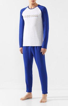 Пижама из смеси вискозы и хлопка | Фото №1