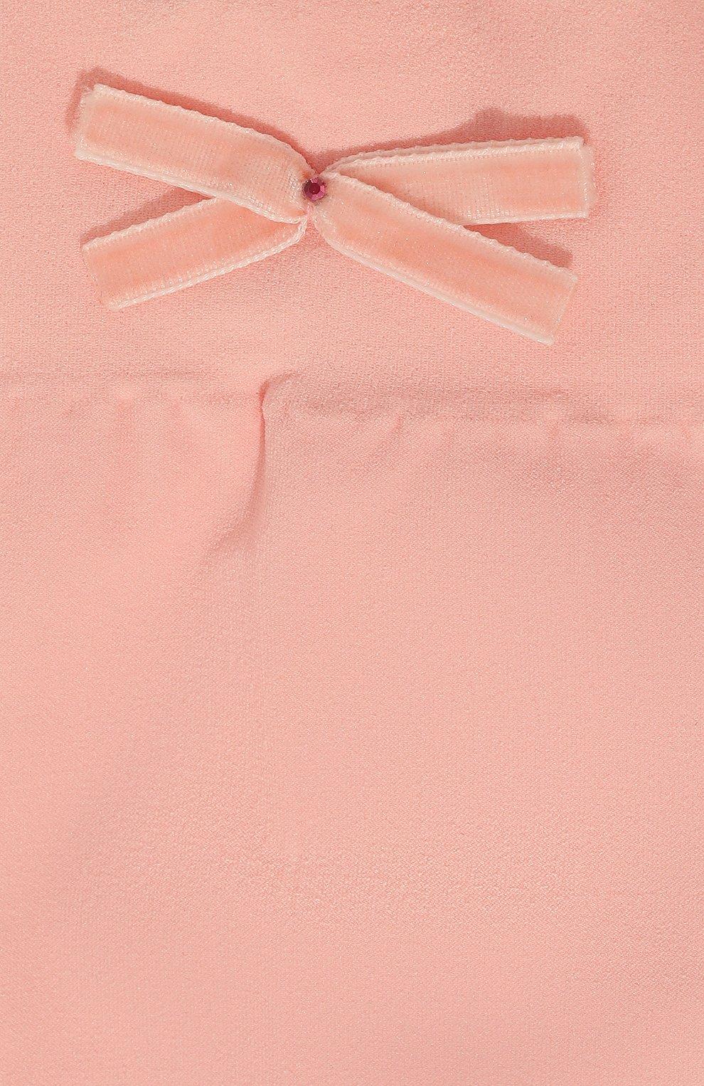 Детские гольфы бантики YULA розового цвета, арт. YU-26 | Фото 2