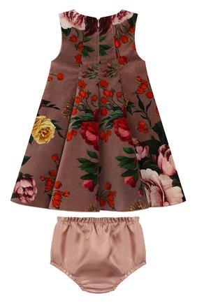 Женский комплект из платья и шорт DOLCE & GABBANA розового цвета, арт. L21DU9/FSWBS | Фото 2