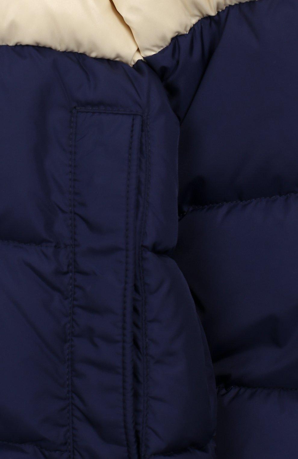 Пуховая куртка с капюшоном | Фото №3