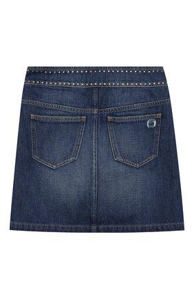 Детская джинсовая юбка INDEE синего цвета, арт. FAIR/DENIM/12Y-18Y | Фото 2
