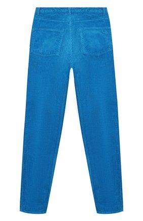 Детского вельветовые брюки INDEE голубого цвета, арт. F0REVER/H0RIZ0N/12Y-18Y | Фото 2