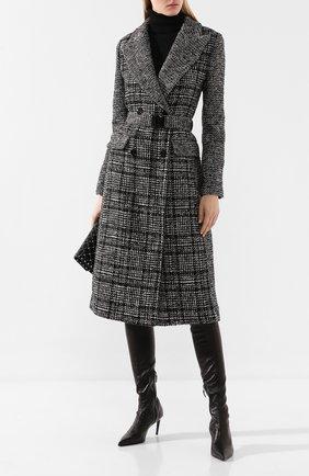 Женские кожаные ботфорты BALDAN черного цвета, арт. 2552/1/2 VITELL0 | Фото 2