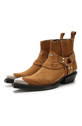 Замшевые ботинки Santiag | Фото №1