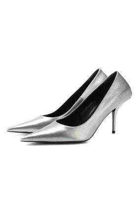 Кожаные туфли Square Knife | Фото №1