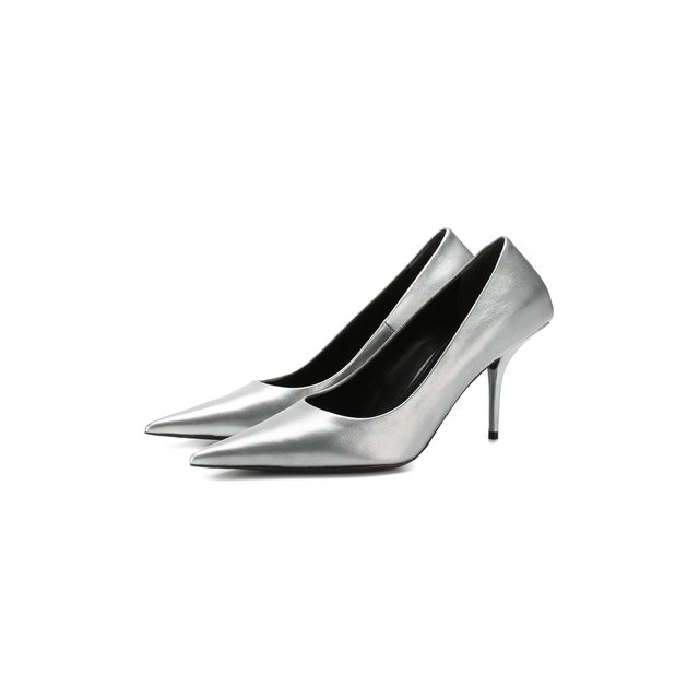 Кожаные туфли Square Knife Balenciaga